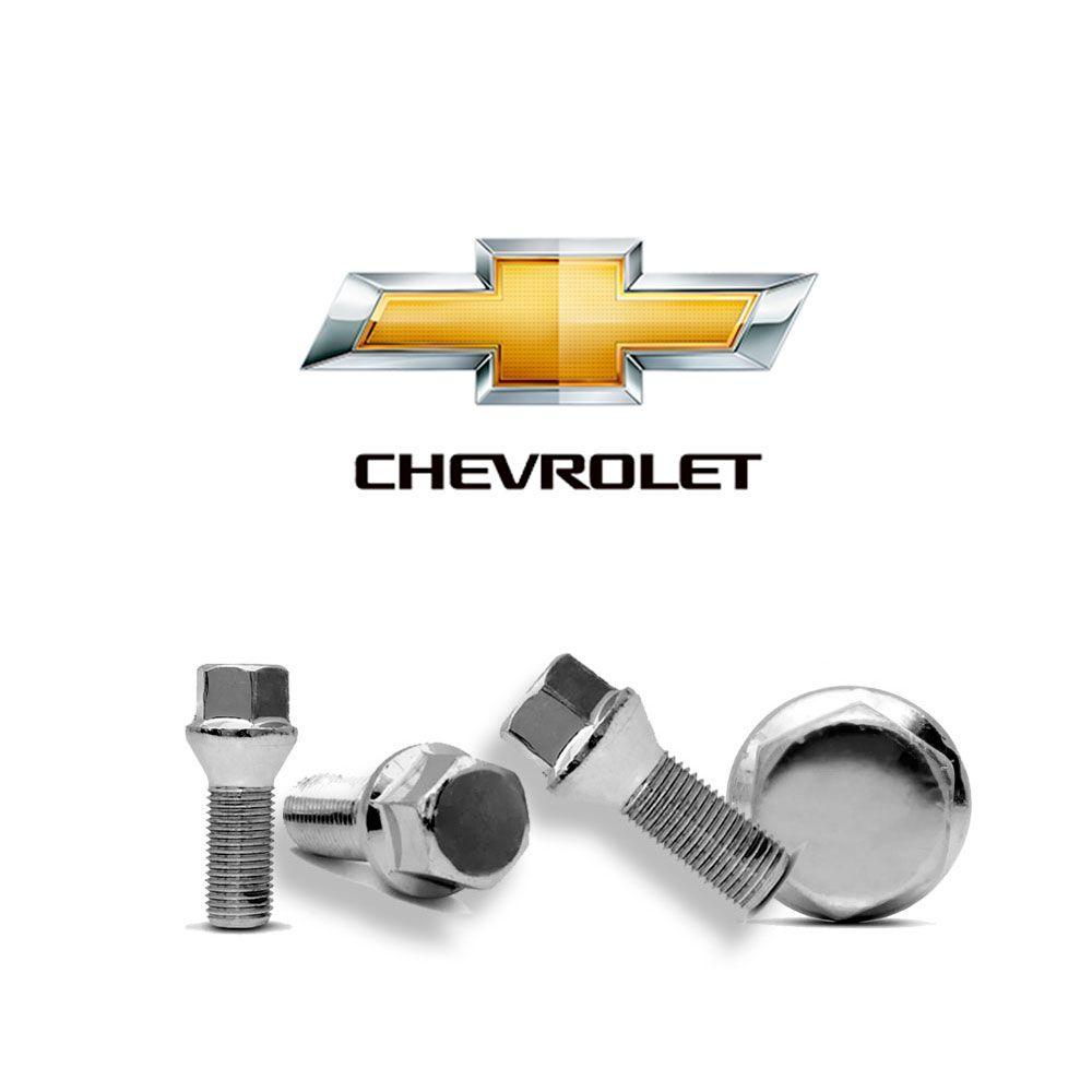 Parafusos Roda Cromado Chevrolet Prisma Celta Corsa Classic Maxx Chevett