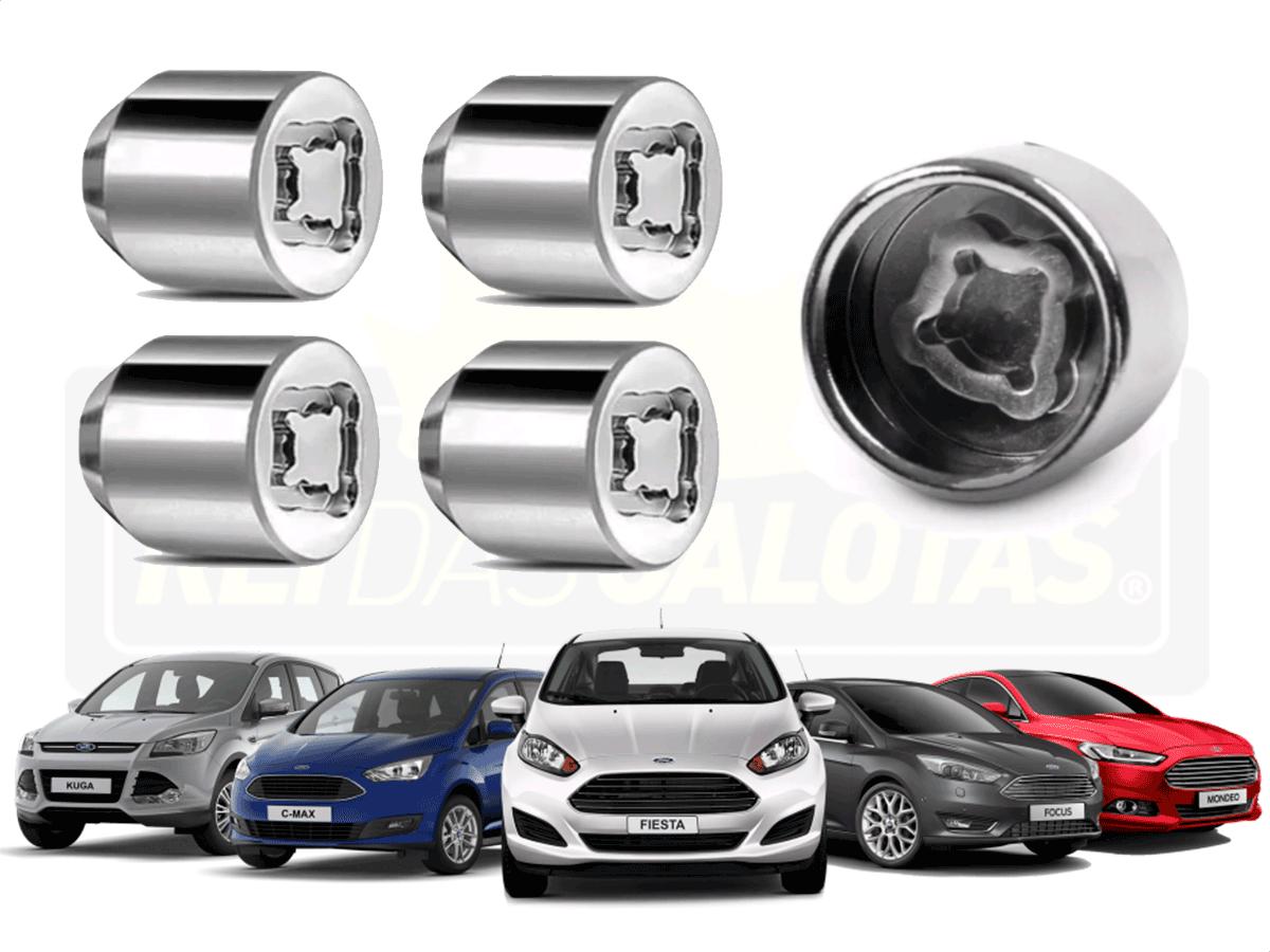 Porca Anti Furto Security Ford Ka New Fiesta 4pçs 2019 2020
