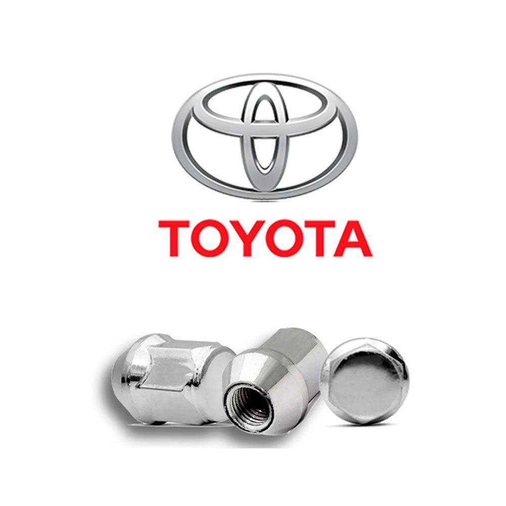 Porca de Roda Cromada Toyota Etios Corolla
