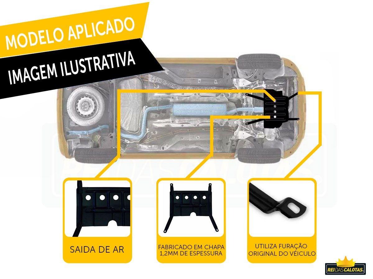 Protetor De Carter Chevrolet  Prisma 2016 a 2018