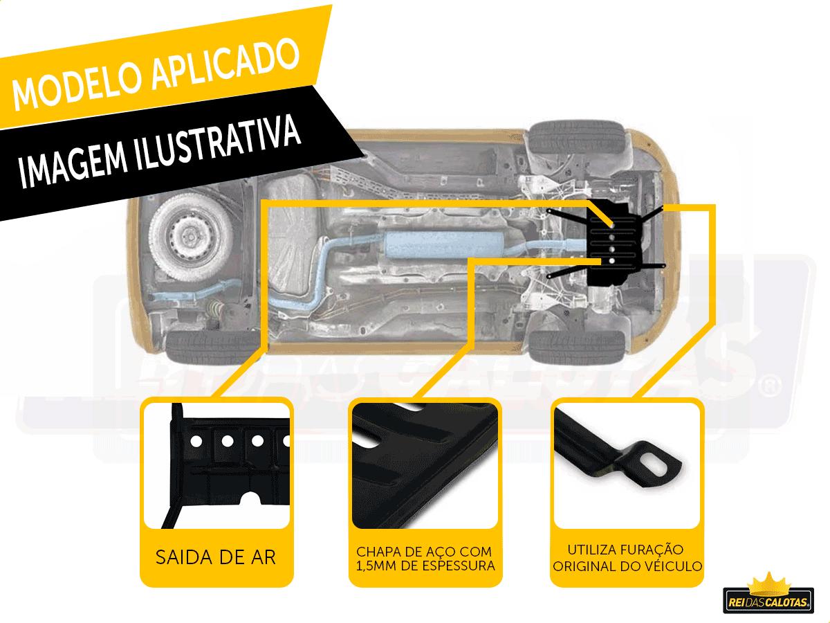 Protetor De Carter Hyundai Hb20 HB20X HB20S 2015 a 2017