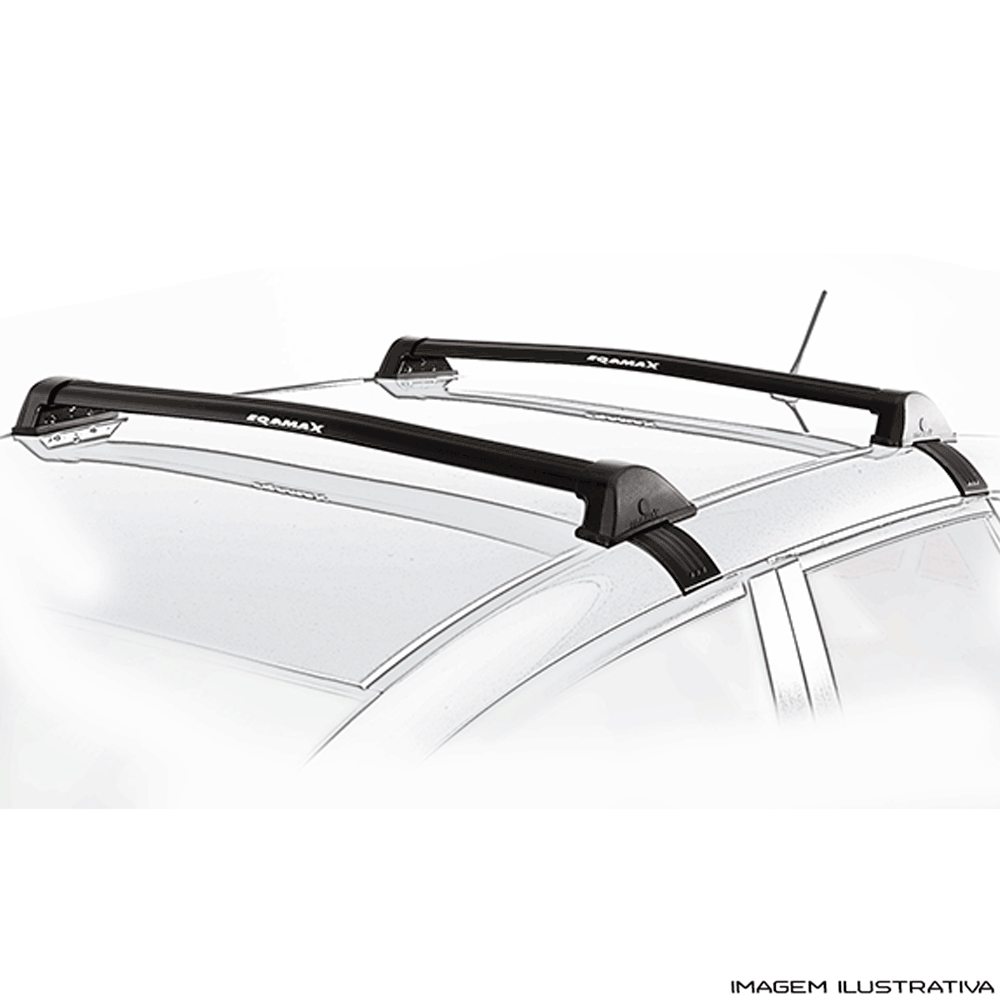 Rack De Teto New Wave Eqmax Citroen C3 2013 a 2017  Santo Andre - ABC - SP