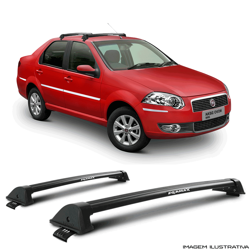 Rack De Teto New Wave Eqmax Fiat Siena 1997 a 2006 Santo Andre - ABC - SP