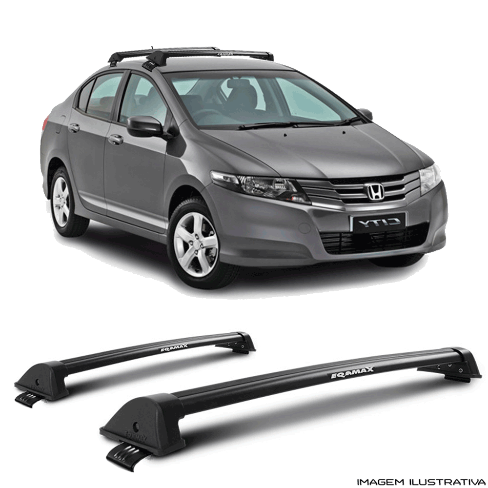 Rack De Teto New Wave Eqmax Honda City 2010 a 2014 Santo Andre - ABC - SP