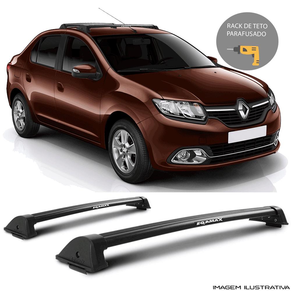 Rack De Teto New Wave Eqmax Renault  Novo Logan 2015 a 2018 Santo Andre - ABC - SP