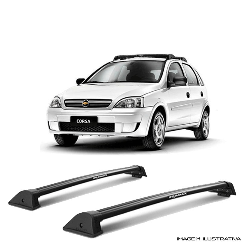 Rack De Teto Wave Eqmax Chevrolet Gm Corsa 2002 a 2014  a Santo Andre - ABC - SP