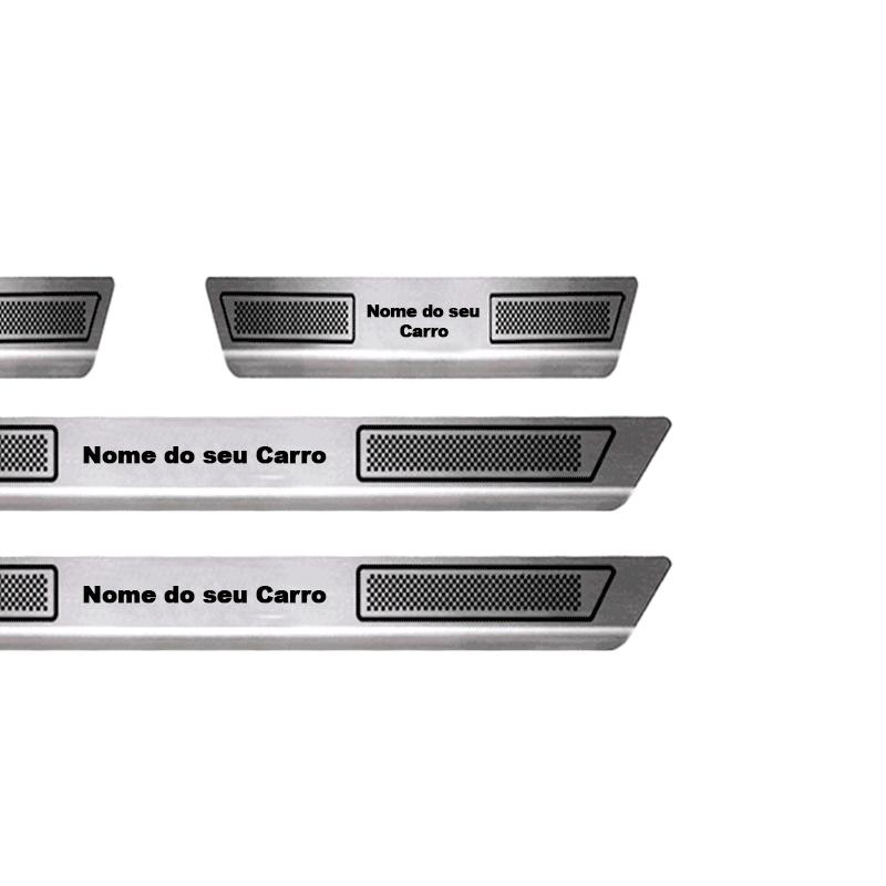 Soleira Aço Inox Ford New Focus 2014 2015 2016 2017 2019