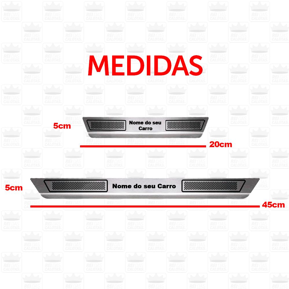 Soleira Aço Inox Hyundai Hb20 2014 2015 2016 2017 2018 2019