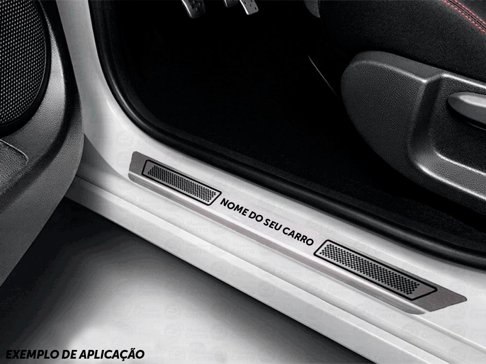 Soleira Aço Inox Hyundai Santa Fé 2015 2016 2017 2018 2019