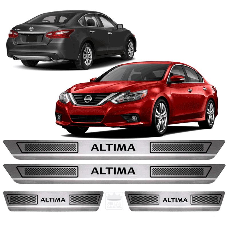 Soleira Aço Inox Nissan Altima 2014 2015 2016 2017 2018 2019