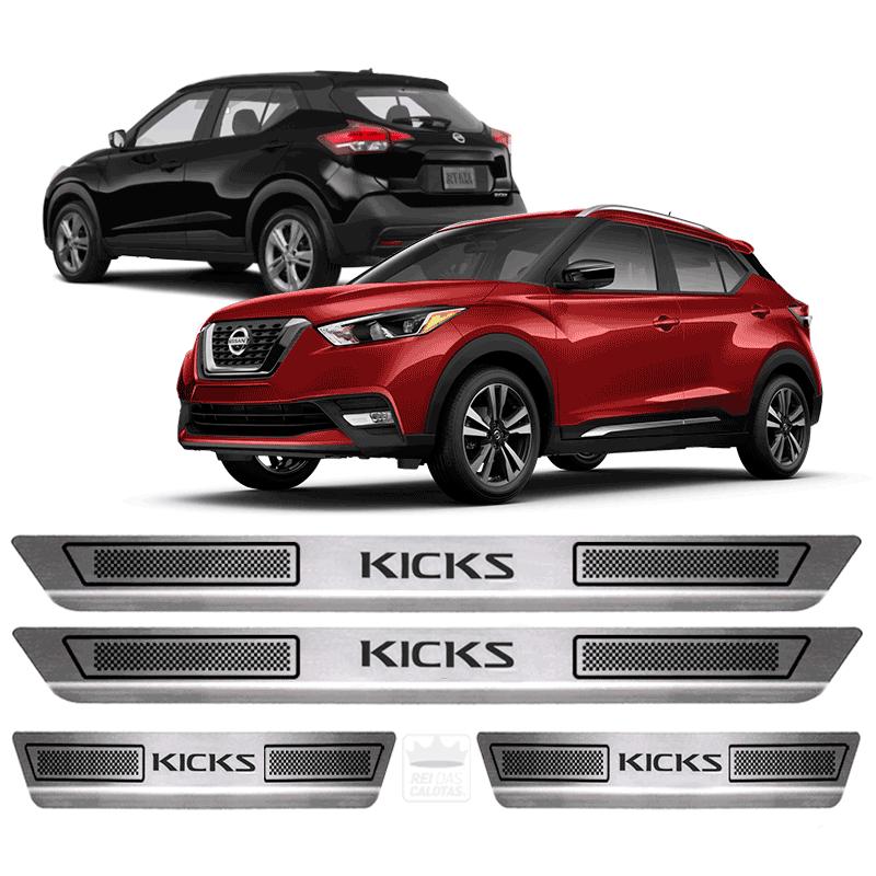 Soleira Aço Inox Nissan Kicks 1.6 S Mt 2016 2017 2018 2019