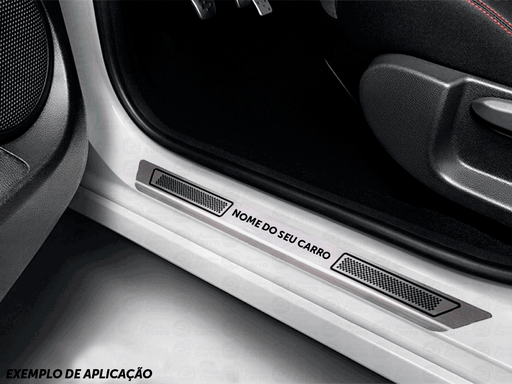 Soleira Aço Inox Nissan Marcha 1.6 Cvt 2013 2014 2015 2019