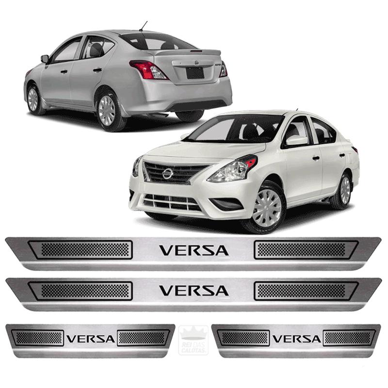Soleira Aço Inox Nissan Versa 2015 2016 2017 2018 2019