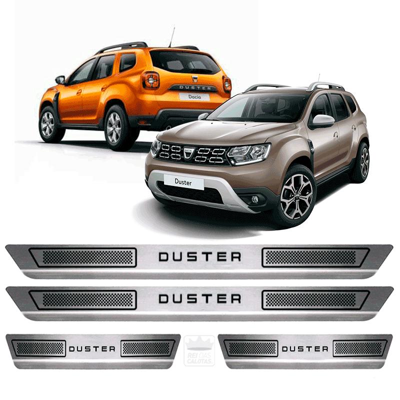 Soleira Aço Inox Renault Duster 2015 2016 2017 2018 2019