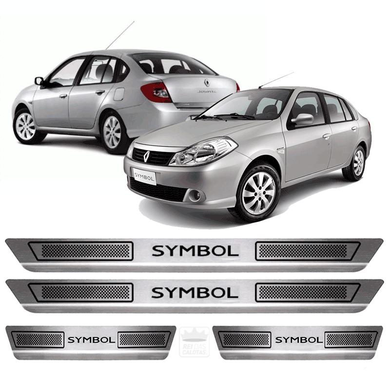 Soleira Aço Inox Renault Symbol 2010 2011 2012 2013 2014