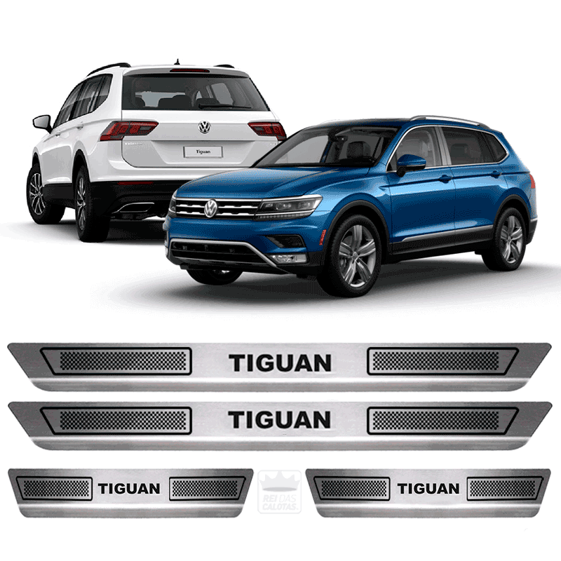 Soleira Aco Inox Volkswagen Tiguan 2015 2016 2017 2018 2019