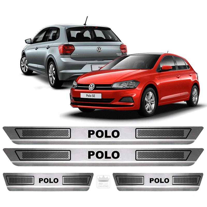 Soleira Aço Inox Volkswagen Novo Polo Tsi 2018 2019