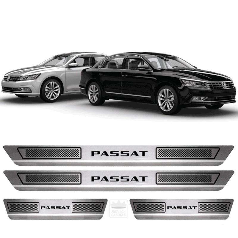 Soleira Aço Inox Volkswagen Passat 2012 2014 2016 2018 2019