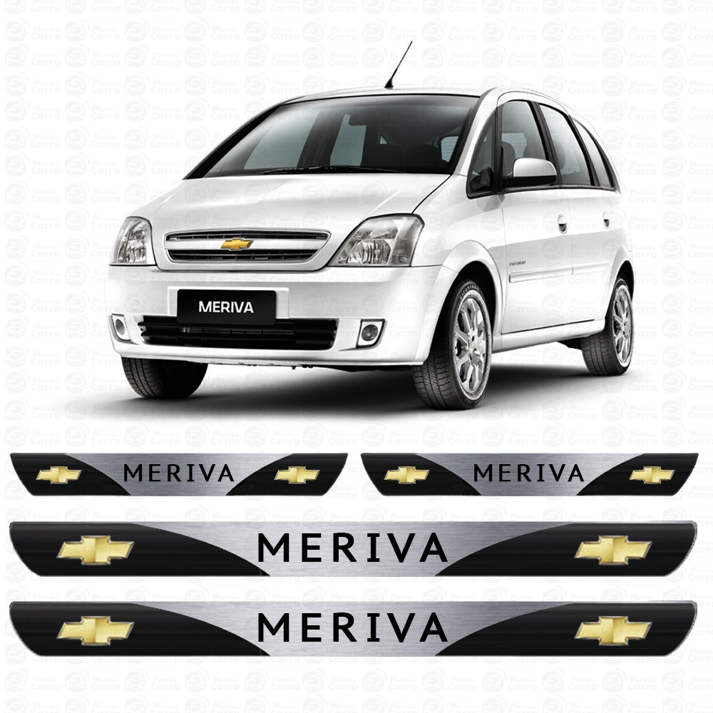 Soleira Resinada Personalizada para Chevrolet Meriva