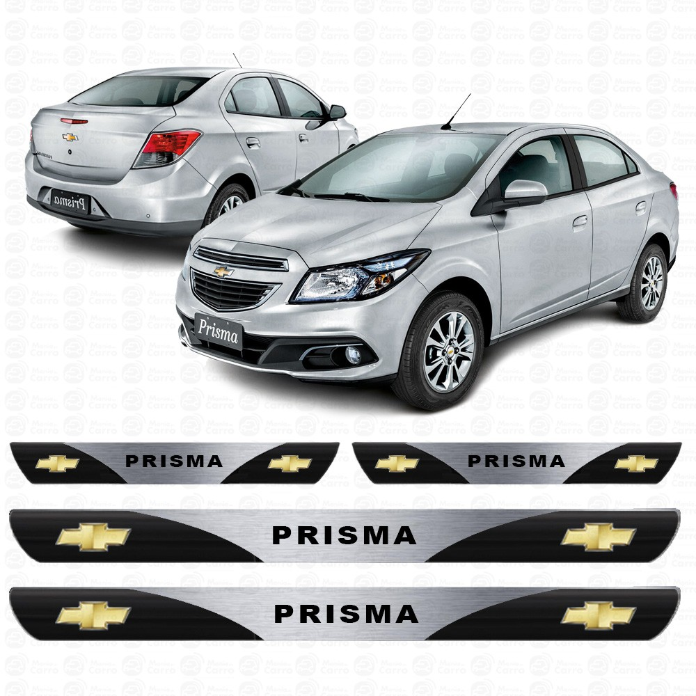 Soleira Resinada Personalizada Para Chevrolet Prisma