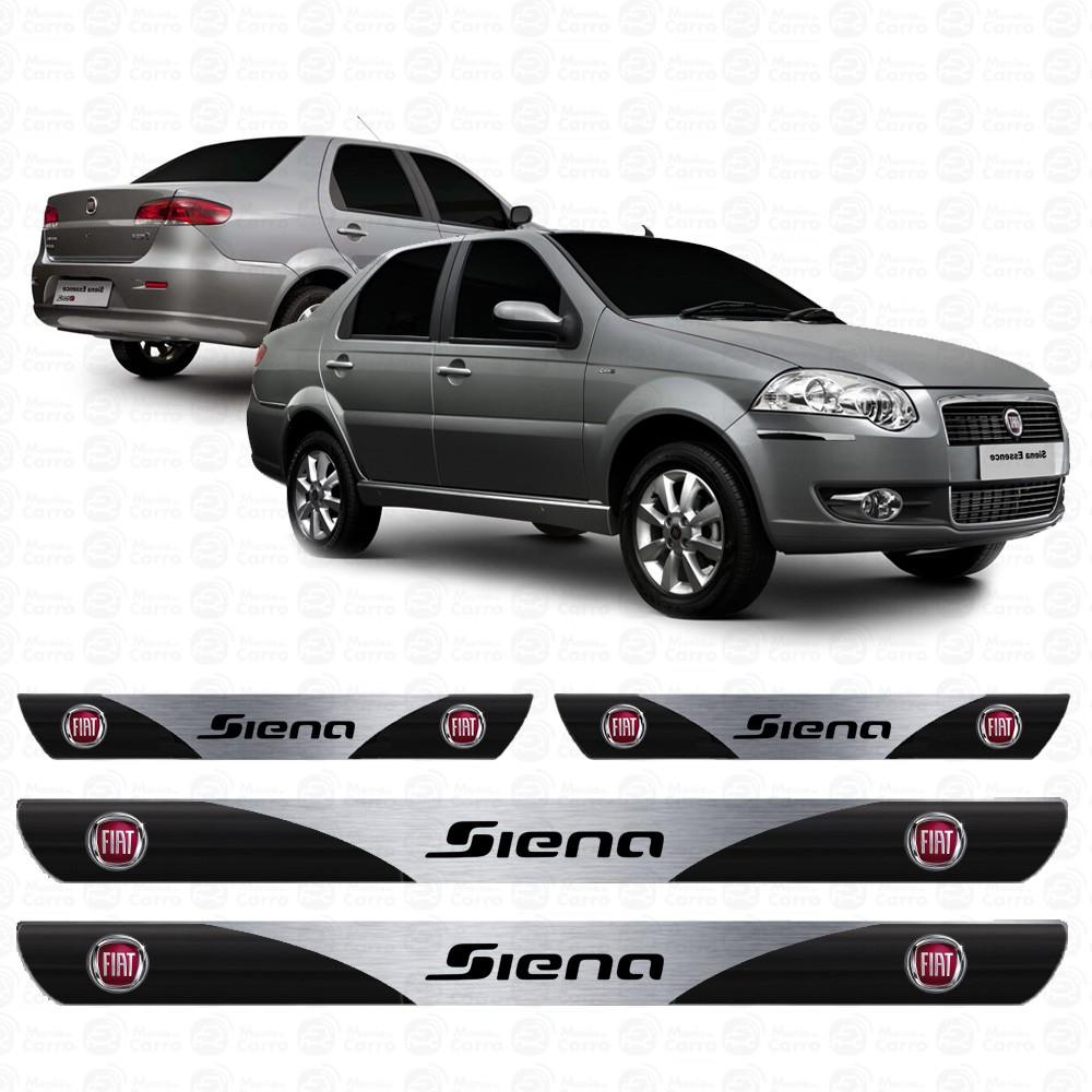 Soleira Resinada Personalizada Para Fiat Siena