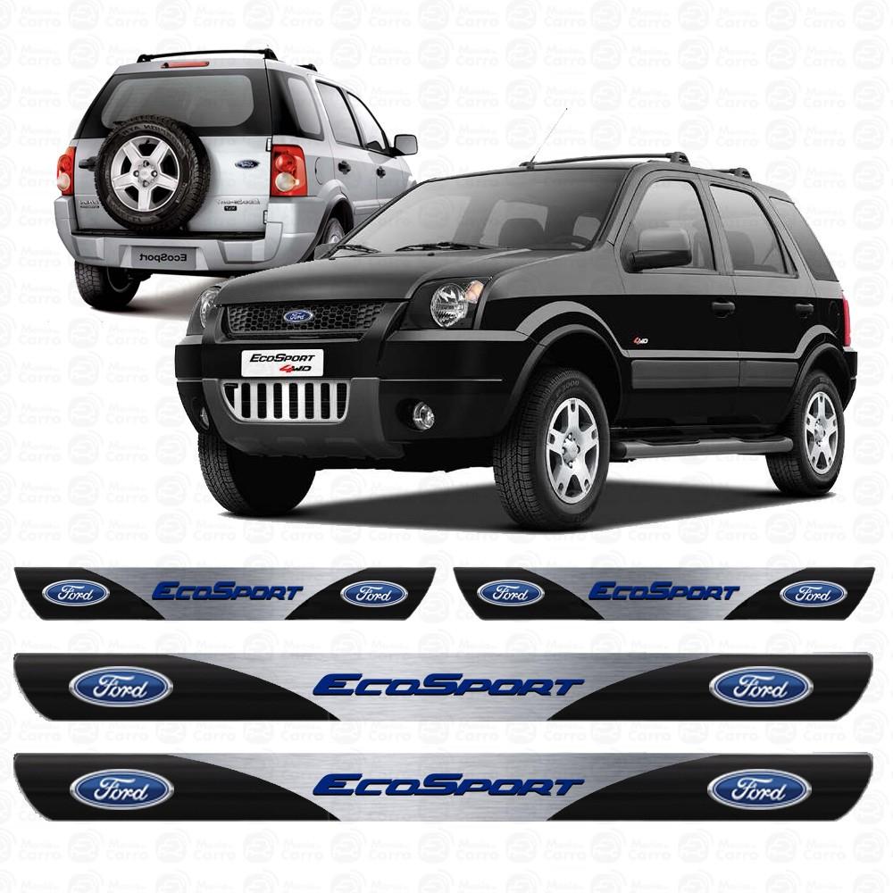 Soleira Resinada Personalizada Para Ford Ecosport