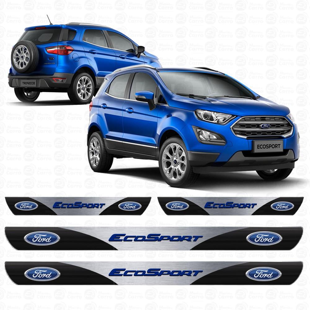Soleira Resinada Personalizada para Ford Nova Ecosport