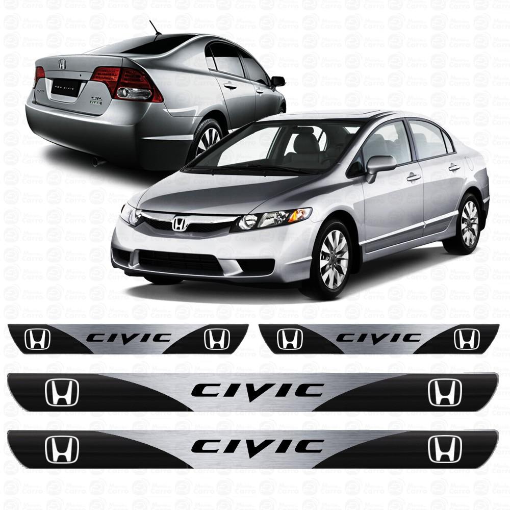 Soleira Resinada Personalizada para Honda Civic