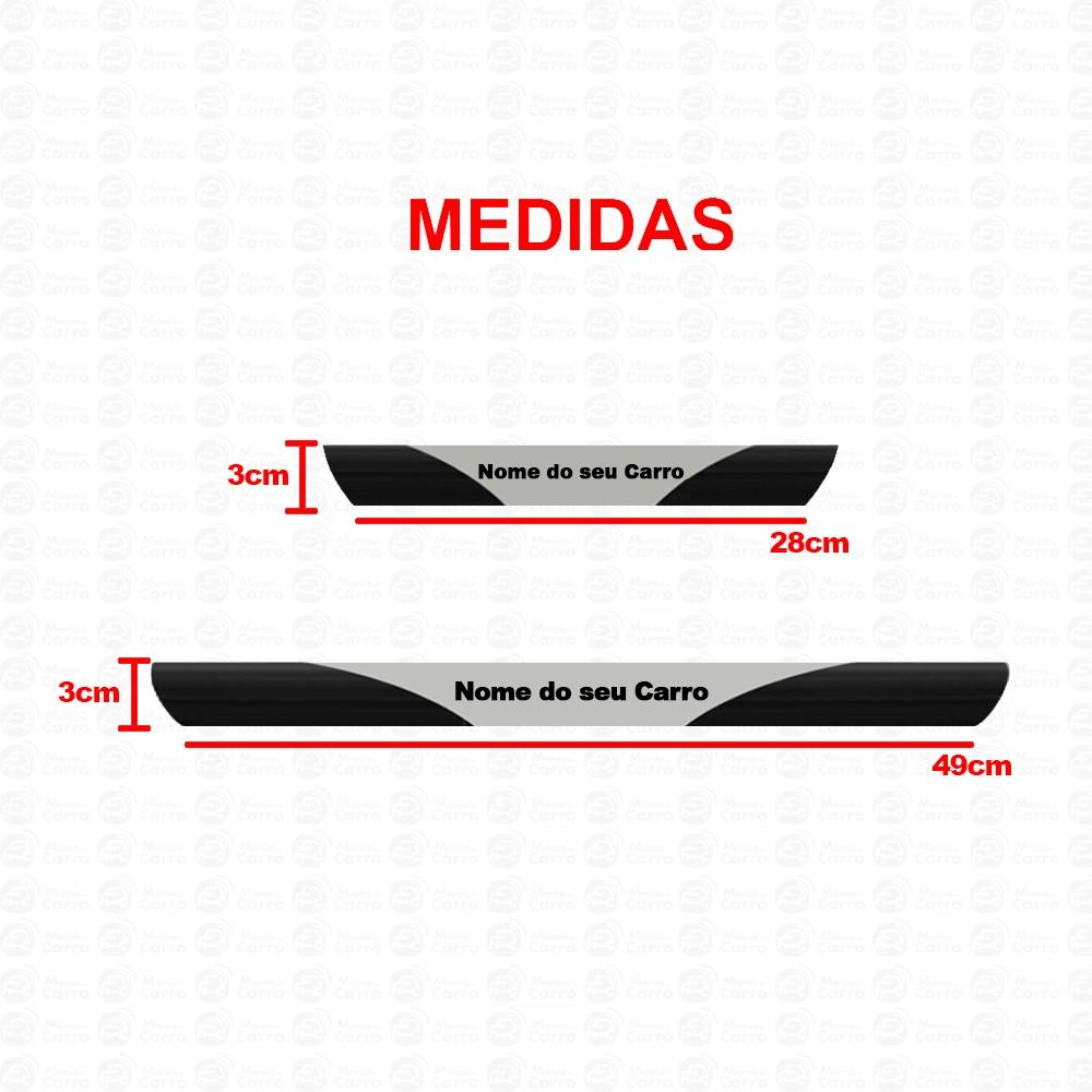 Soleira Resinada Personalizada para Hyundai HB20s