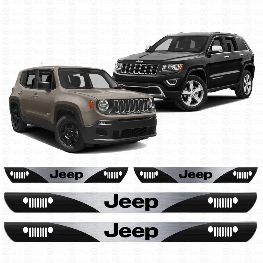 Soleira Resinada Personalizada Para Jeep