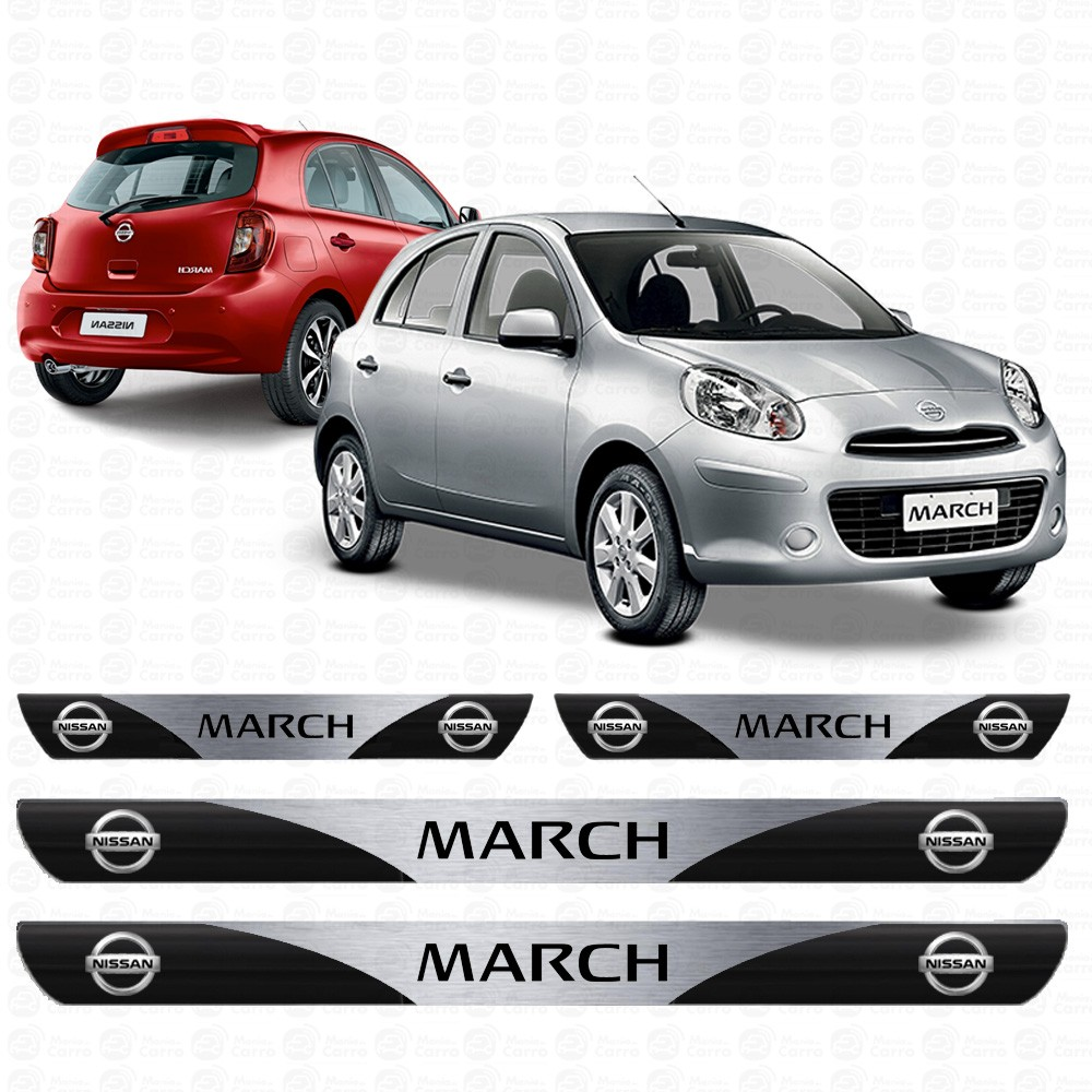 Soleira Resinada Personalizada Para Nissan March