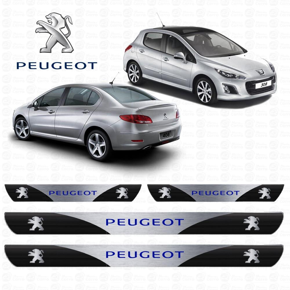 Soleira Resinada Personalizada Para Peugeot 207, 206, 307, 207Sw