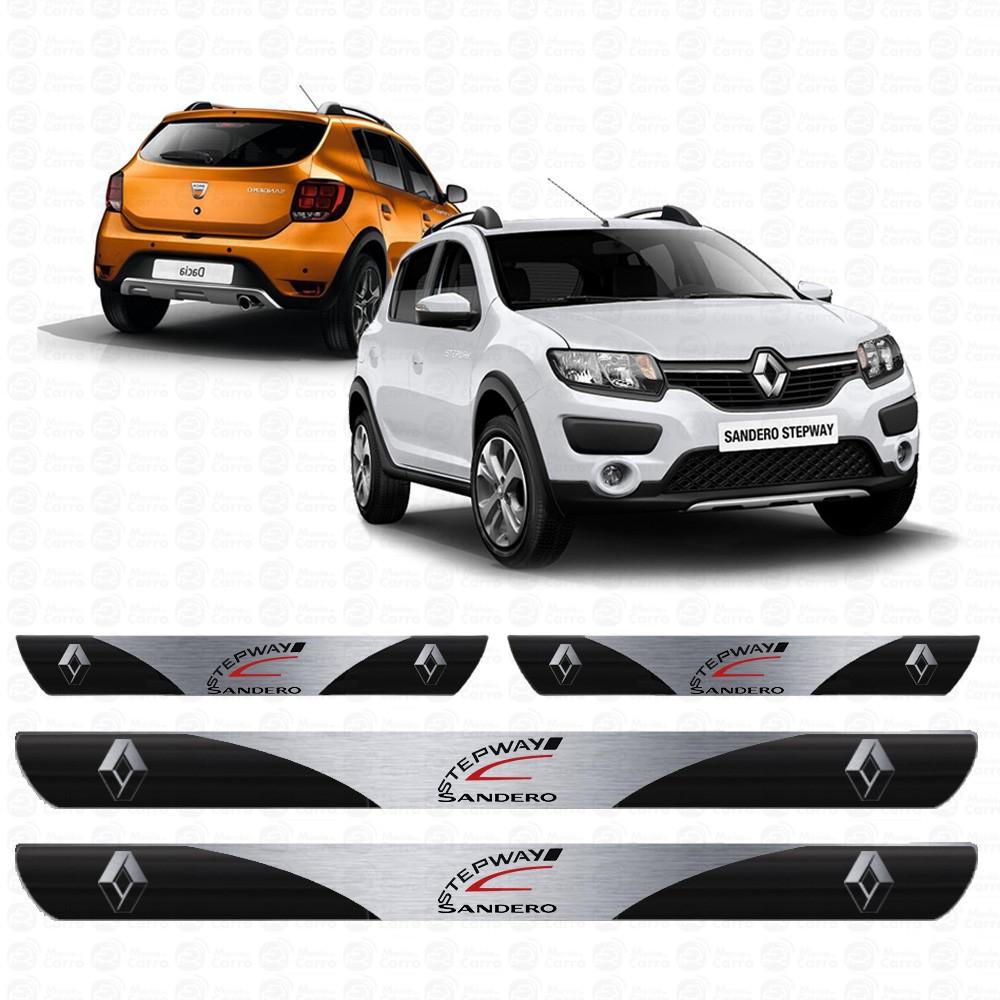 Soleira Resinada Personalizada para Renault Sandero Stepway