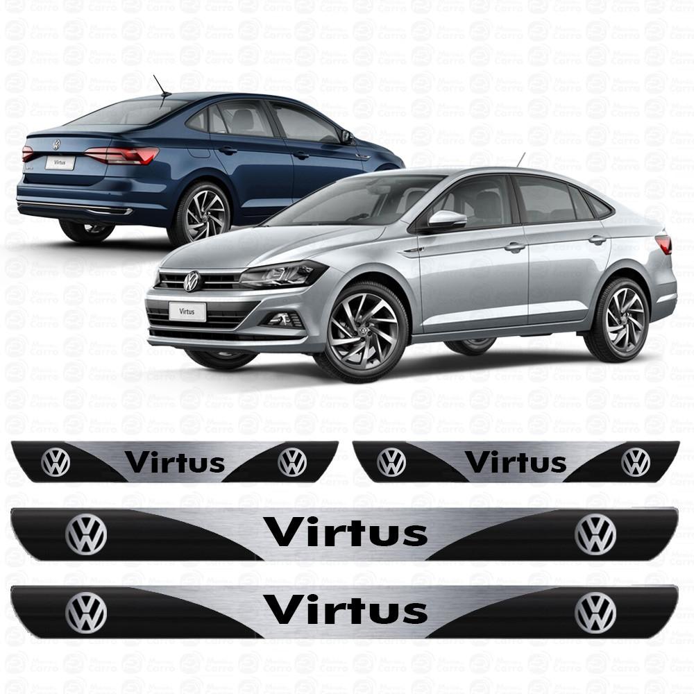 Soleira Resinada Personalizada para Volkswagen Virtus