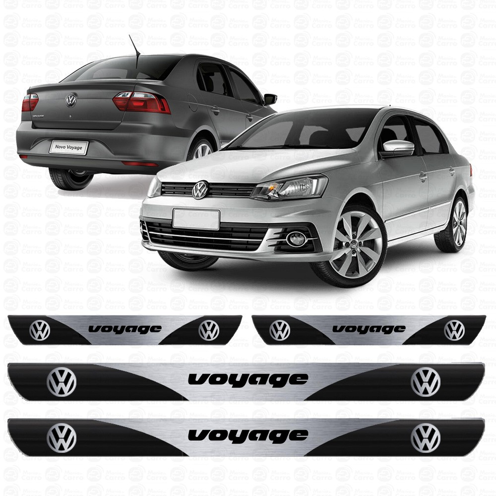 Soleira Resinada Personalizada Para Volkswagen Voyage