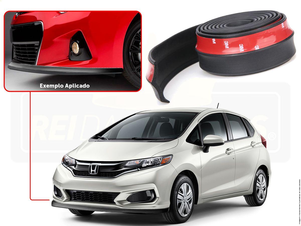 Spoiler De Personalização E Acabamento Sanfil Para Honda Fit