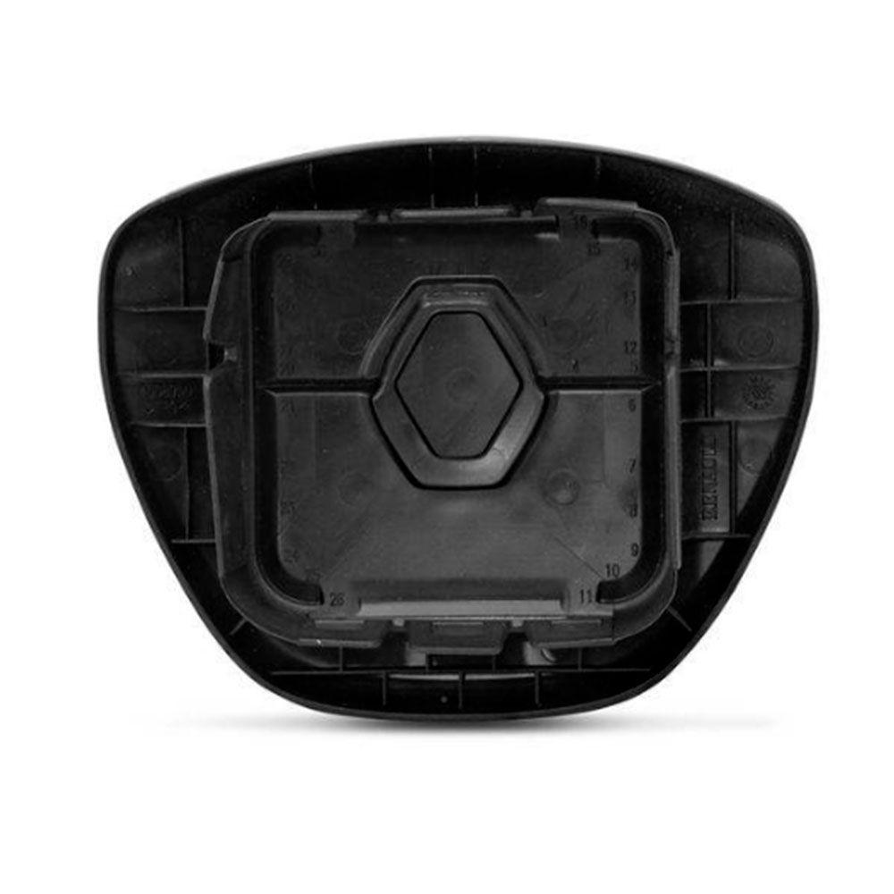 Tampa de Volante Capa Airbag Renault Sandero Logan 2015 a 2017