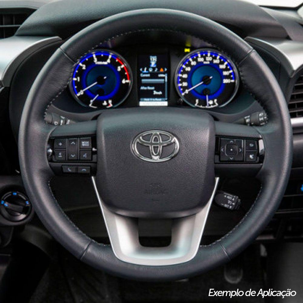 Tampa de Volante Capa Airbag Toyota Hilux 2015 A 2016