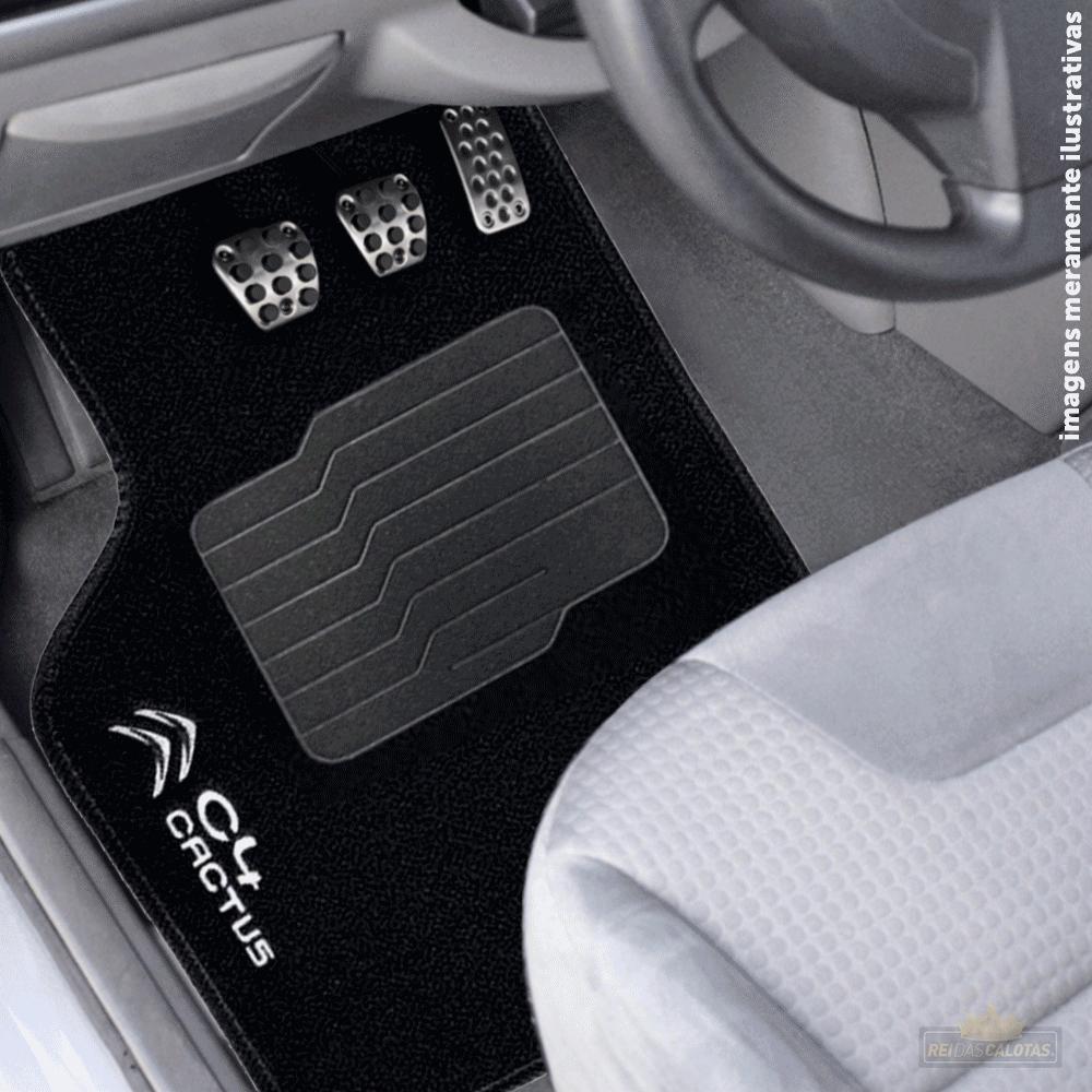 Tapete Carpete Premium 5 Peças Preto Citroen C4 Cactus 18 A 2020