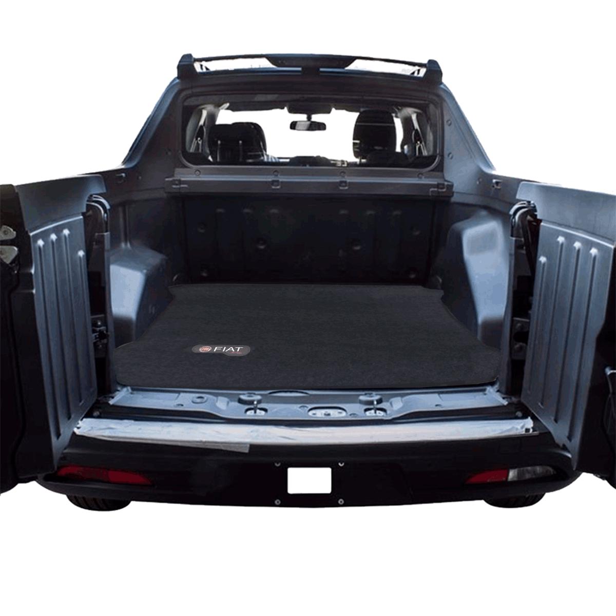 Tapete De Carpete Premium Caçamba Traseira Fiat Toro
