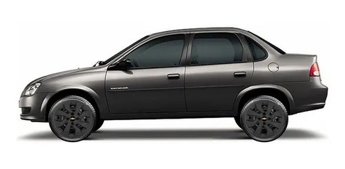 Calota Preto Fosco Aro 14 Chevrolet Novo Prisma Onix Preto Fosco G373Pf