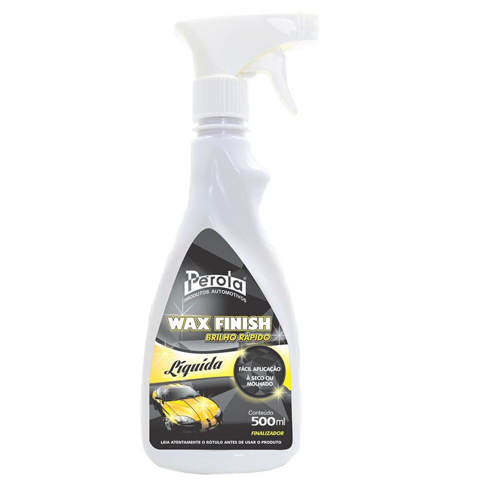 WAX FINISH BRILHO RAPIDO PEROLA 500ML