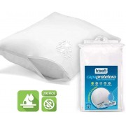 Capa Protetora de Travesseiro Impermeável Percal 200 Fios Trisoft - Kit com 10 Unidades