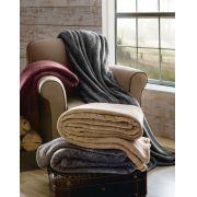 Cobertor King Ultra Soft Melange Rozac Vermelho