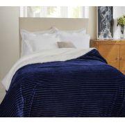 Edredom Casal Boreal Corttex 1,80m x 2,20m Home Design Marinho