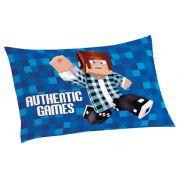 Fronha Infantil Avulsa Personagens 50cm x 70cm Lepper Authentic Games