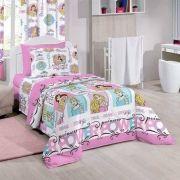 Jogo de Cama Infantil Santista Princess Power 3 Peças Disney