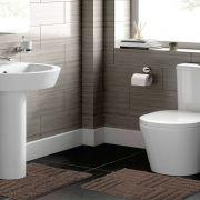 Jogo de Tapete para Banheiro 2 Peças 100% Algodão Murano Rozac Avelã