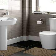 Jogo de Tapete para Banheiro 2 Peças 100% Algodão Murano Rozac Fendi