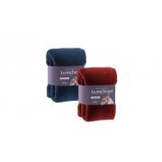 kit com 2 Manta Cobertor Microfibra Casal Aconchego Rozac